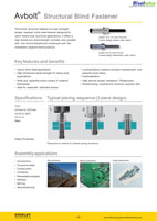 Download the Avdel Avbolt Brochure