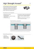 Download the Avdel High Strength Hexsert Blind Rivet Nuts Brochure