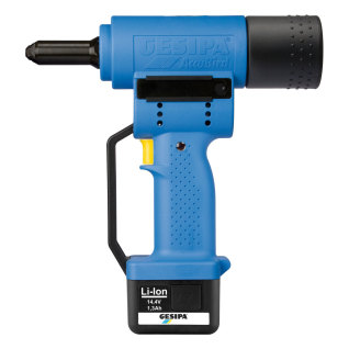 ACCUBIRD - Battery Powered Riveting Tool - Li-Ion
