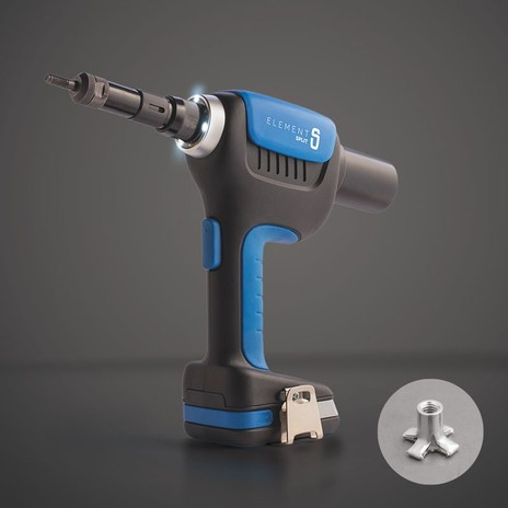 Element Split | Battery setting tool for multi-grip nuts