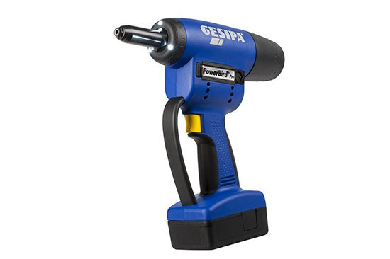 POWERBIRD PRO GOLD - Battery Powered Riveting Tool  - Li Ion