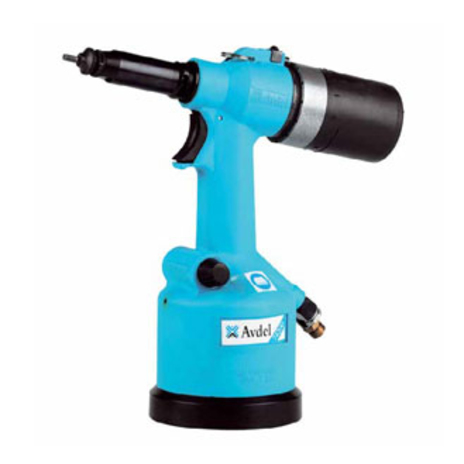 Legacy 74200 - M10 - POP-Avdel Pneumatic Hydraulic Rivet Nut Tool