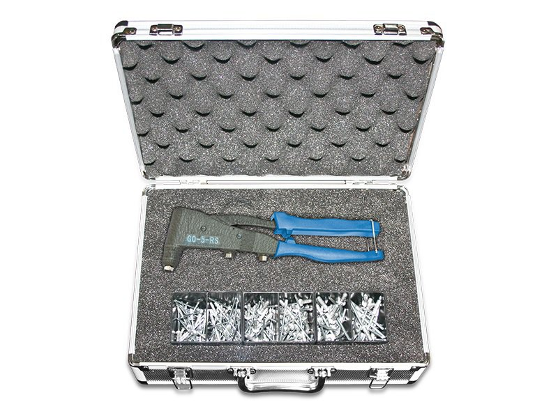 Professional Hand Plier Rivet Tool GO-5-RS SET