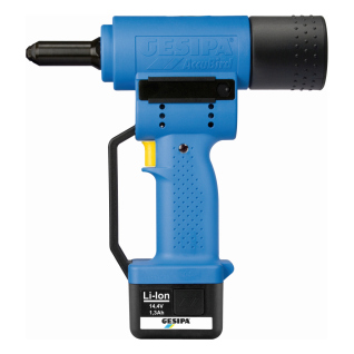 ACCUBIRD - 110V Battery Powered Riveting Tool - Li-Ion