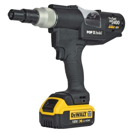 Battery Powered Riveting Tool - Li-Ion POP PB3400